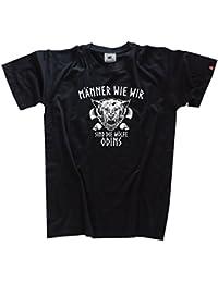 Viking-Shirts Männer wie wir sind die Wölfe Odins T-Shirt S-XXXL