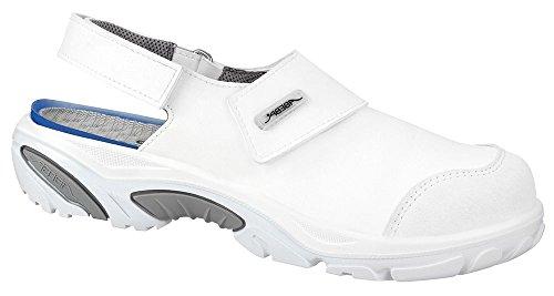 Abeba 4555-36 Crawler Chaussures de sécurité Sandale Taille 36 Blanc