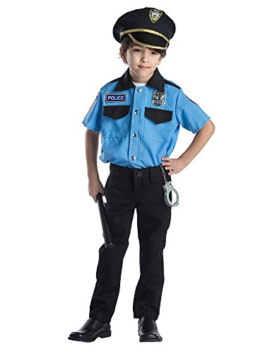 Dress Up America Deluxe Police Chief Role Play Set Kostüm für Kinder - Alter (Kostüme Kleinkind Polizei)