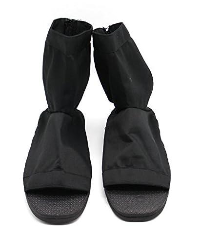CoolChange Naruto Shippuden Ninja Schuhe, Schwarz, Größe: 44 / 45 (Madara Uchiha Kostüm)