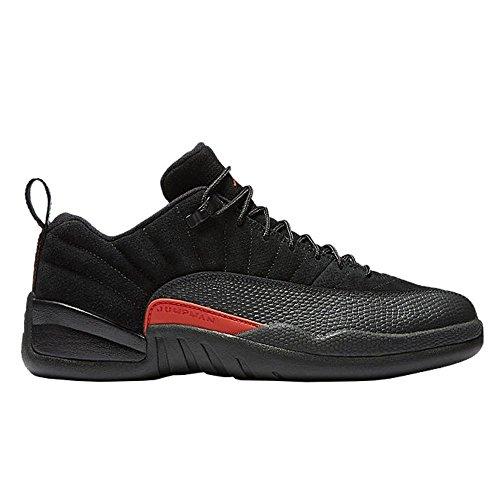 Nike Air Jordan Xii Retro Low GS - 308305003 - Farbe: Orangefarbig-Graphit-Schwarz - Größe: 35.5