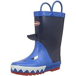 Chipmunks Jaws, Botas de Agua para Niños, Azul (Marino), 33 EU