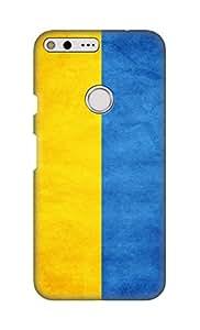 ZAPCASE Printed Back Cover for Google Pixel XL