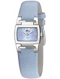 f60656ce381f Lotus Lotus 15389-3 - Reloj de mujer de cuarzo con correa de piel azul