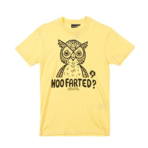 Kinder T-Shirt Volcom Hoo Farted T-Shirt Boys Light Yellow