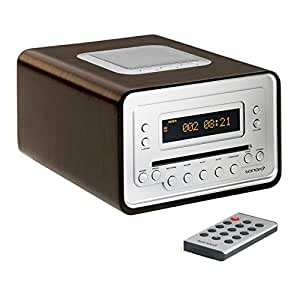 sonoro radio cd player cubo 2010 eiche k che haushalt. Black Bedroom Furniture Sets. Home Design Ideas