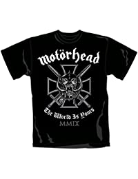 Motörhead - T-Shirt Iron Cross (in S)