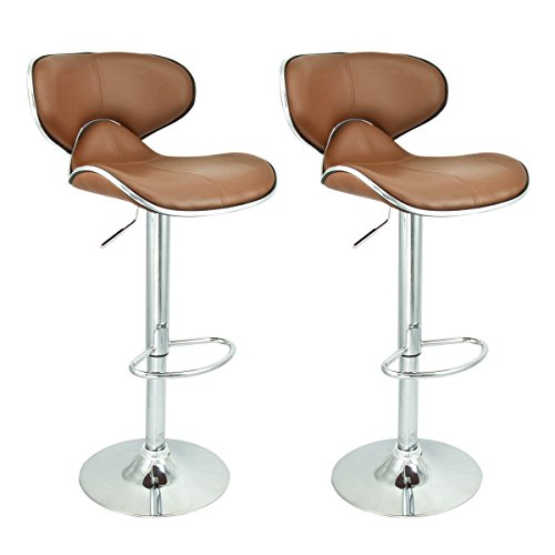 MBTC Horse Bar Stool Chair in Beige Color ( Set of 2 )