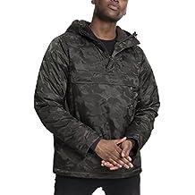 Urban Classics Padded Camo Pull Over Jacket, Chaqueta para Hombre