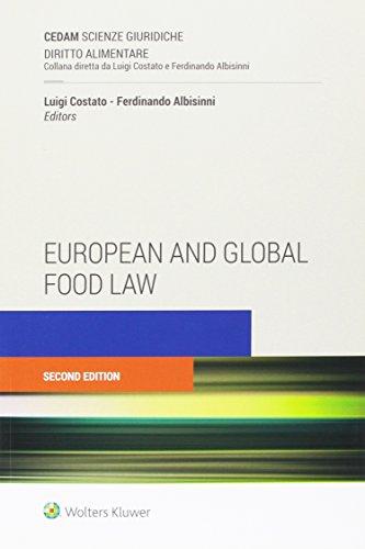European and global food law (Diritto alimentare) por Luigi Costato