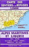 Ligurien Wanderkarte, Karte, Landkarte, Alpi Marittime e Liguri Blatt 113/114, Ligurien, 1:25.000, Edition Multigraphic - Edition Multigraphic