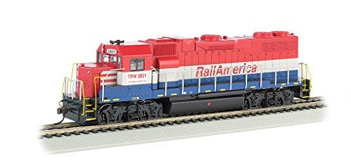 Bachmann Industries Rail America EMD GP 38-2 Diesel Locomotive