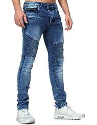 Tazzio - Jeans slim homme Tazzio 522 Bleu