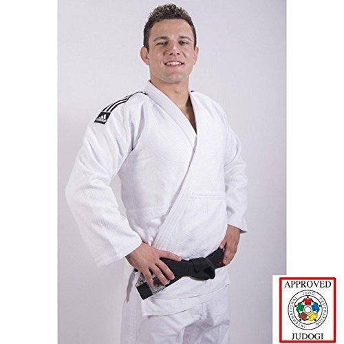 Adidas Champion II IJF Judo Anzug Gi Weiss
