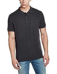 GAP Men's Short Sleeve Solid Slub Polo