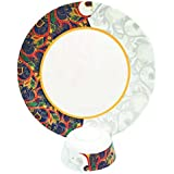 Smart Dinning 100% Melamine Dinner Set Of 12 Pieces Plates And Bowls, Paisley