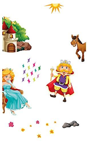 Wandtattoo Kinderzimmer Möbelsticker Set Zauberwald zum Kleben Möbelaufkleber