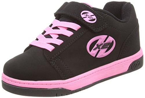 HeelysDual Up 770231 - Sneakers da ragazza' , Multicolore (Multicoloured (Black/Pink)), 35