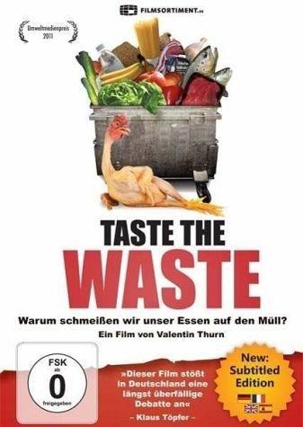 Taste the Waste - Warum schmeißen wir unser Essen auf den Müll?, 1 DVD (Aus-taste)