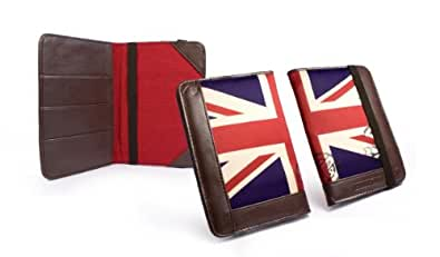 Tuff-Luv Porte Passeport En Cuir - Union Jack