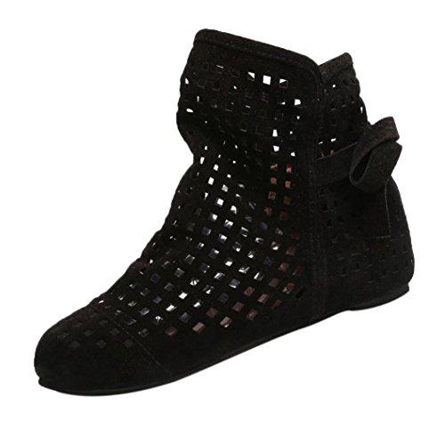 ZODOF Botas de Mujer Planas Ocultas Bajas cuñas Botines de Tobillo Zapatos...