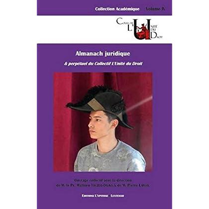 L'Almanach juridique & perpétuel du collectif l'Unité de Droit