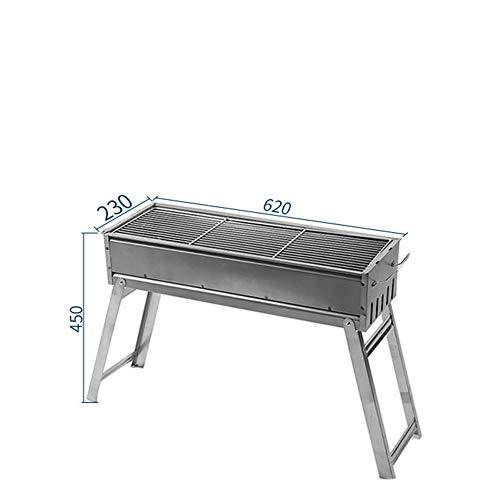 Wilder Edelstahlgrill des Grills im Freien - Holzkohle-grill Ersatzteile