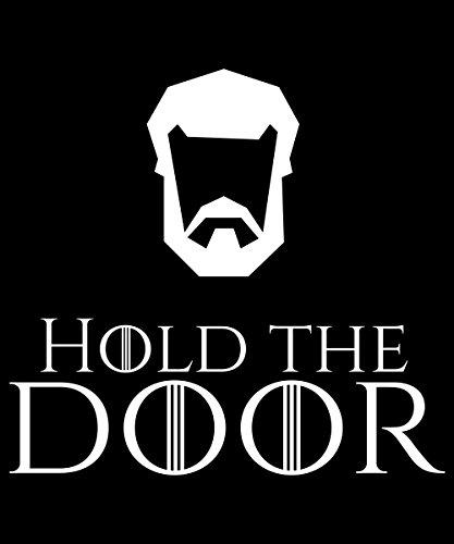 -- Hold the Door -- Boys Kapuzenpullover Schwarz