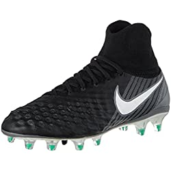 Nike Jr Magista Obra Ii Fg, Botas de Fútbol Unisex Niños, Negro (Black/White/Dark Grey), 36.5 EU