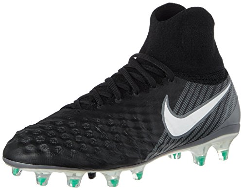 Nike Magista Obra II DF Fg, Scarpe da Calcio Unisex-Bambini, Nero Schwarz, 36 EU