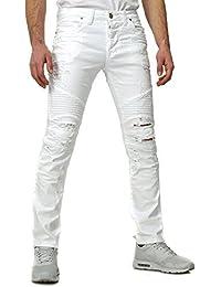 Redbridge Homme Look Destroyed Jeans NEIGE Slim Fit Coupe 5-Pocket