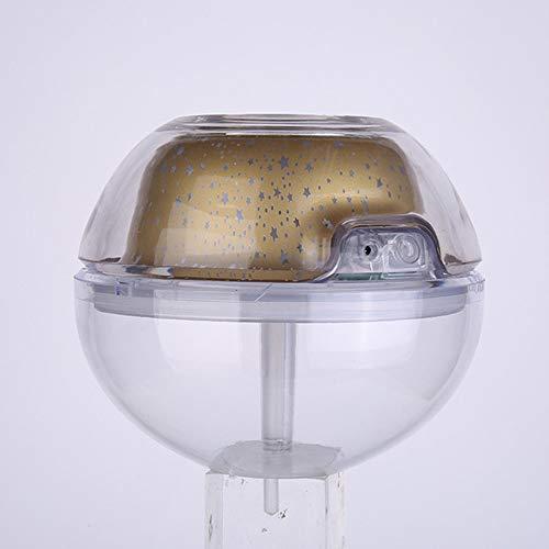 WYFDM Cristal Noche humidificador proyección luz,500