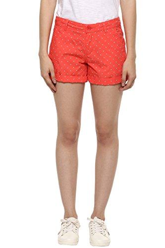 Honey By Pantaloons Womens Cotton Solid Shorts