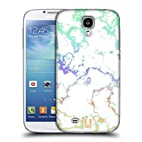 Head Case Designs Regenbogen Schimmerndes Marmor Ruckseite Hülle für Samsung Galaxy S4 I9500