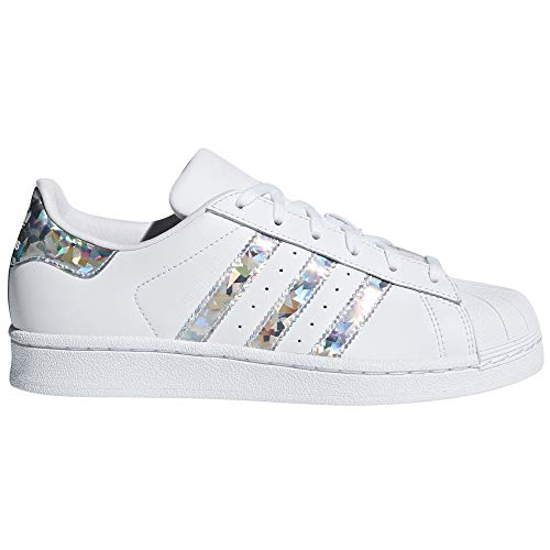 Adidas Original Superstar Autentic Blancas para Mujer de Piel. Sneakers.