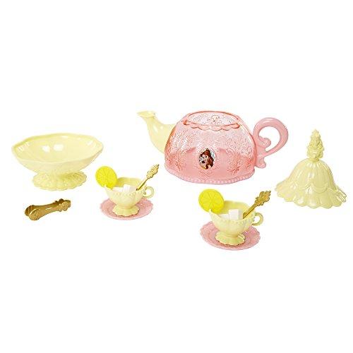 Jakks Pacific Disney Prinzessinnen - DP Belle Königliches Teeset, Küchenspielzeug