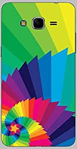 Timpax protective Armor Hard Bumper Back Case Cover. Multicolor printed on 3 Dimensional case with latest & finest graphic design art. Compatible with only Samsung Galaxy Grand 2 - 7106/7105. Design No :TDZ-20357