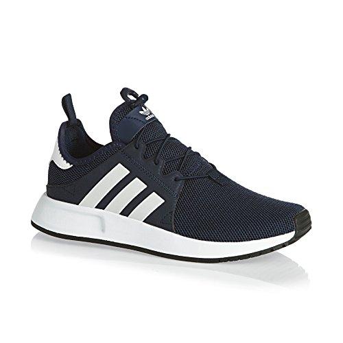 adidas X_plr J, Sneakers Basses Mixte Enfant Bleu (Conavy/ftwwht/conavy)