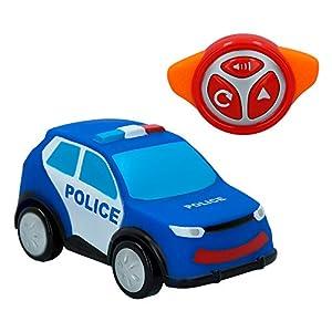 Motor Town- Coche RC blandito Polícia (ColorBaby 43863)