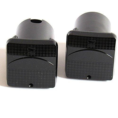 001DELTA-I - Juego de 2 cámaras de fotocélulas empotradas para puerta (20...