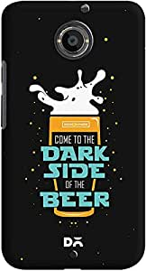 DailyObjects Dark Beer Rules Case For Motorola Moto X2