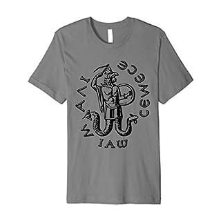 Abraxas Gemstone T-Shirt Gnosticism Gnostic God Demon Tee
