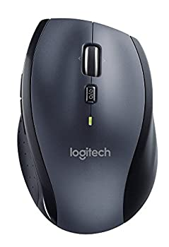Logitech M705 Wireless Mouse For Windows, Mac, Chrome For Laptop & Computer - Black 0