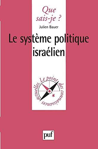 Le système politique israélien