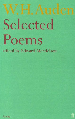 W  H  Auden | poetryarchive org