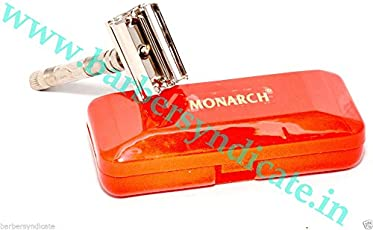 CHROME POLISH TWIST OPEN SAFETY RAZOR LIGHT WEIGHT,MEN SHAVING SYSTEM 333