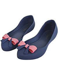 IRSOE Latest Collection, Comfortable & Fashionable Bow Knot Bellies for Women's/Girl's Ballet Flats/Ballerinas