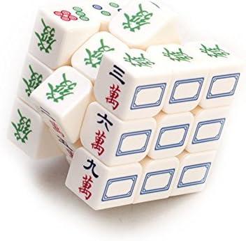 LanLan Cube Magique,Lumineux Mahjong 3x3x3 Magique Cube Vitesse Puzzle Puzzle Puzzle Jeu Cubes Jouets Éducatifs pour  s  s | France  7d556a
