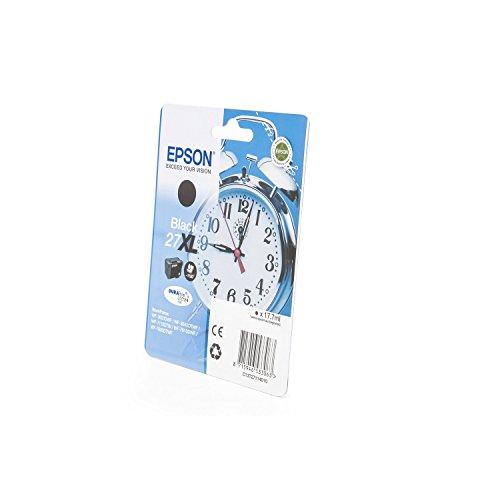 Preisvergleich Produktbild Original Tinte passend für Epson WorkForce WF-7110 DTW Epson 27 , 27XL , T27114010 C13T27114010 , T2711 , T271140 - Premium Drucker-Patrone - Schwarz - 1.100 Seiten - 17,70 ml