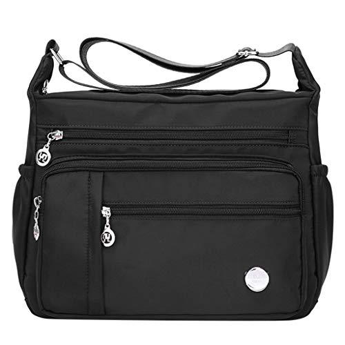 d8504a97c Luckycat Mujer de Bolsos de Moda Impermeable Mochilas Bolsas de Viaje Bolso  Bandolera Sport Messenger Bag